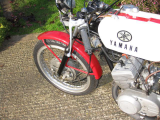 Yamaha TA125 cc Twin cylinder machine