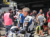 Eastern Creek Australia classic event with kevin Magee Yamaha YZR