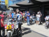 2018 Eastern Creek Australia classic event with kevin Magee Yamaha YZR