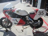 2018 Eastern Creek Australia classic event There Yamaha TZ750s