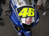 Valantino Rossi Moto GP Machine In Spa Bikers Classic