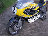 TZ750 Yamaha Kenny Roberts team America colours