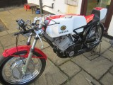 1972 Yamaha TR3 350cc air cooled
