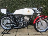 1973 Yamaha TD3 250cc air cooled big Drum brake